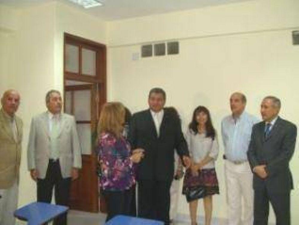 Gobernador Barrionuevo ponderó el apoyo a la educación técnica desde el estado.