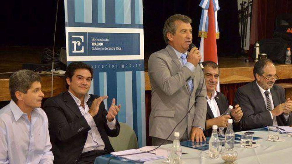 El Estado provincial formará gremialistas