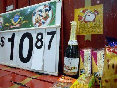 Los productos de la canasta navideña subieron un 24% en promedio