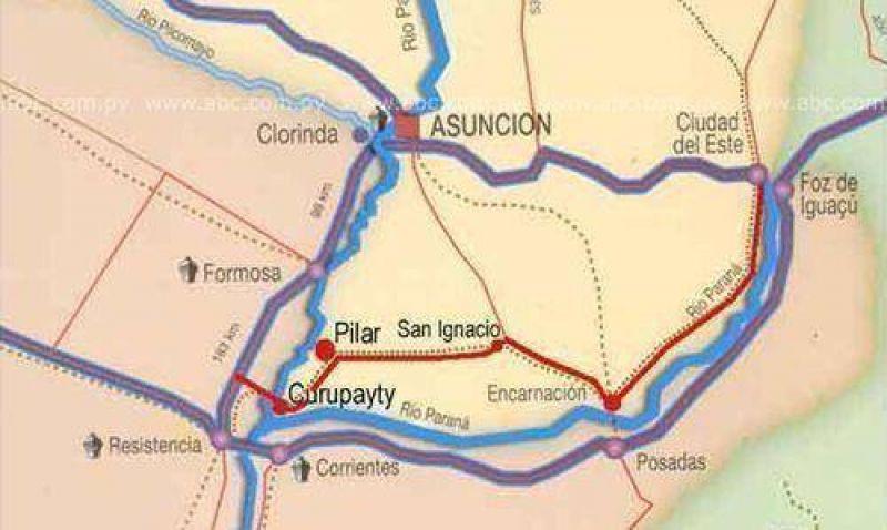 Paraguay impulsaría el puente entre Curupayty-La Leonesa.