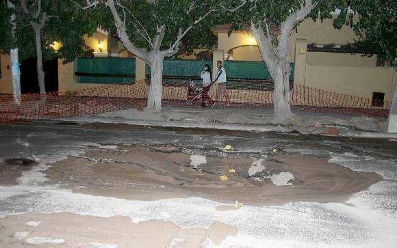 El nuevo pavimento ejecutado en la avenida De los Constituyentes multiplica beneficios a varios barrios.