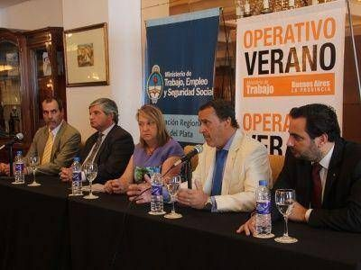 NACIÓN Y PROVINCIA LANZARON EL OPERATIVO VERANO 2013