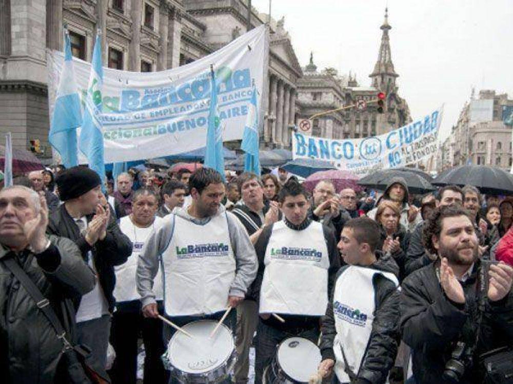 La Bancaria no se sumará a la marcha de la CGT y la CTA opositoras