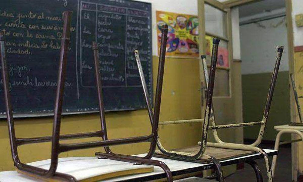 El gobierno porteño intentará frenar paro docente de martes y miércoles