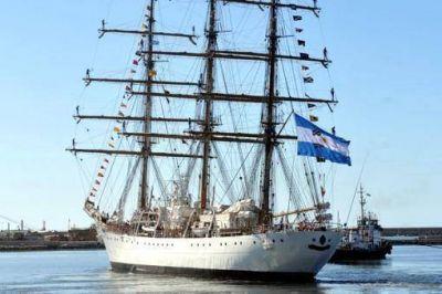 Confirman que la Fragata Libertad partirá desde Ghana este miércoles