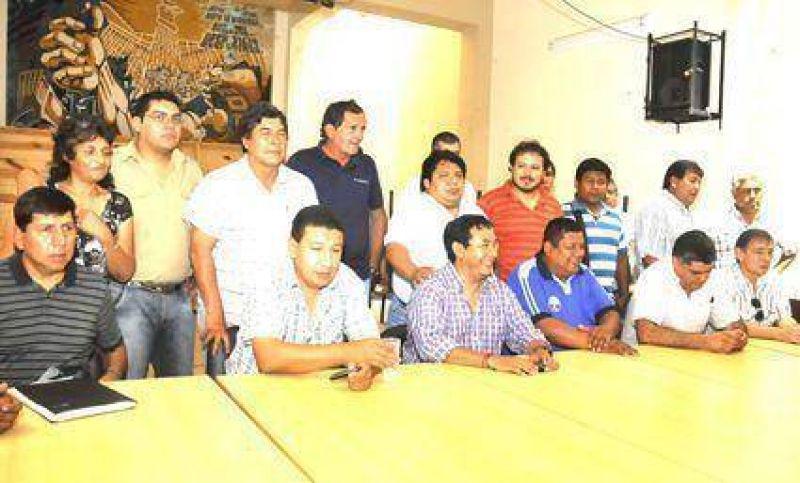 Jornada de paro y movilización  Del Frente de Gremios Estatales
