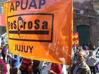 Profesionales de Jujuy manifestaron su malestar con el gobierno de Fellner por las leyes de pase a planta permanente y las jubilaciones forzadas