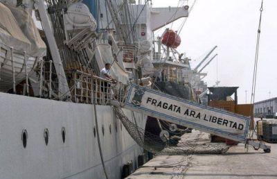 El Municipio le solicitará a la Nación que la Fragata Libertad amarre en Mar del Plata