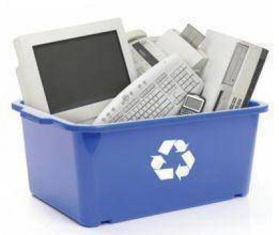 Campaña sobre residuos electrónicos