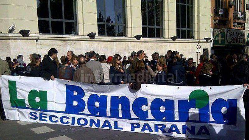 Bancarios no se suman a la movilización convocada por CGT-CTA