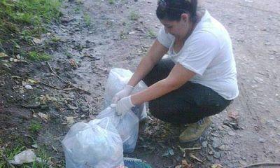 Pol�mica: revisan bolsas de basura para detectar a infractores