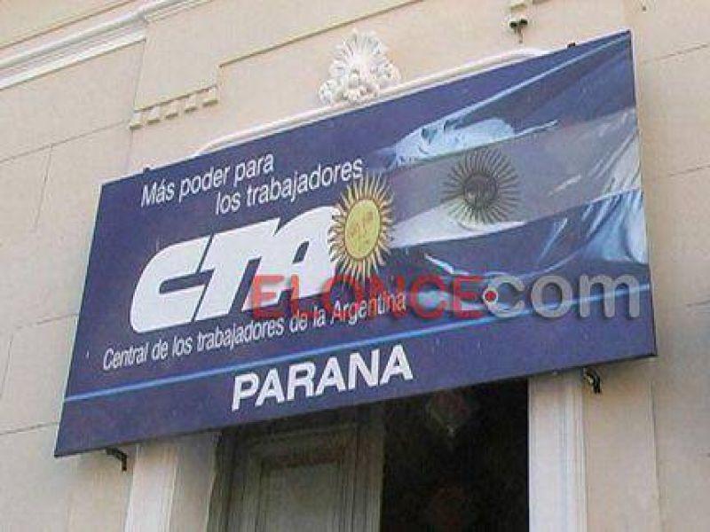 La CTA marchará hoy en Paraná en apoyo a la movilización nacional