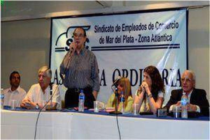 Mercantiles reafirmaron su respaldo a Pedro Mezzapelle