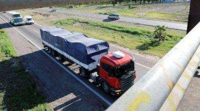 El transporte de carga pagará 1.000% más en Ingresos Brutos