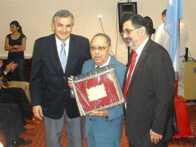 """Homenajearon a Próspero Nieva """"Ciudadano Ilustre de San Salvador de Jujuy"""""""