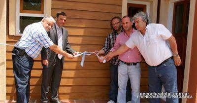 AEFIP inaugur� sus caba�as
