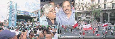 Raleado, Moyano unió Gobierno a FMI