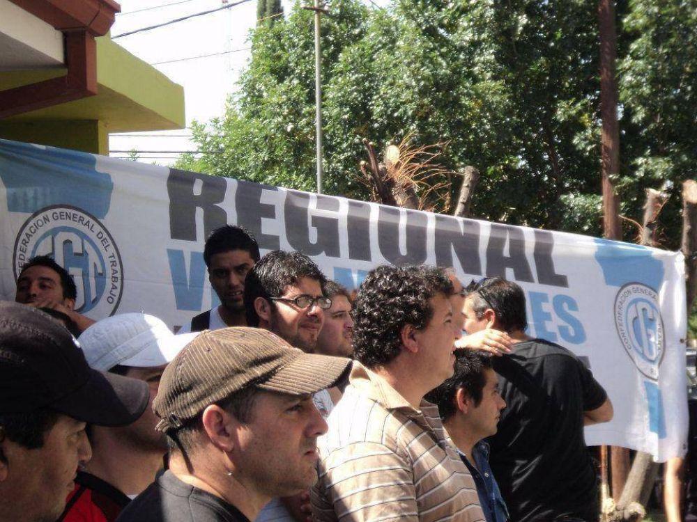 La CGT Villa Mercedes marchará hacia Terrazas del Portezuelo