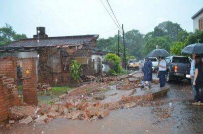 """Franco sobre el temporal: """"trabajamos intensamente con todos nuestros recursos para normalizar situaciones"""""""