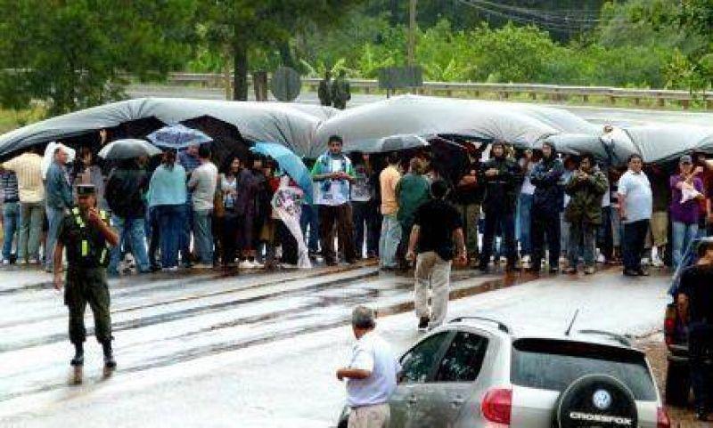 Montecarlo: Anses y el CGE acercaron propuesta y se levantó el corte