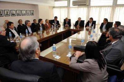 La Scaleia y Alberto Pérez recibieron a prestadores del IOMA