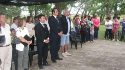 Etchevarren participó del cierre lectivo de Escuelas Rurales
