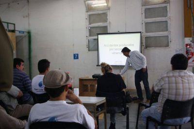 Segunda fase de la capacitación para personal de campo de San Luis Agua
