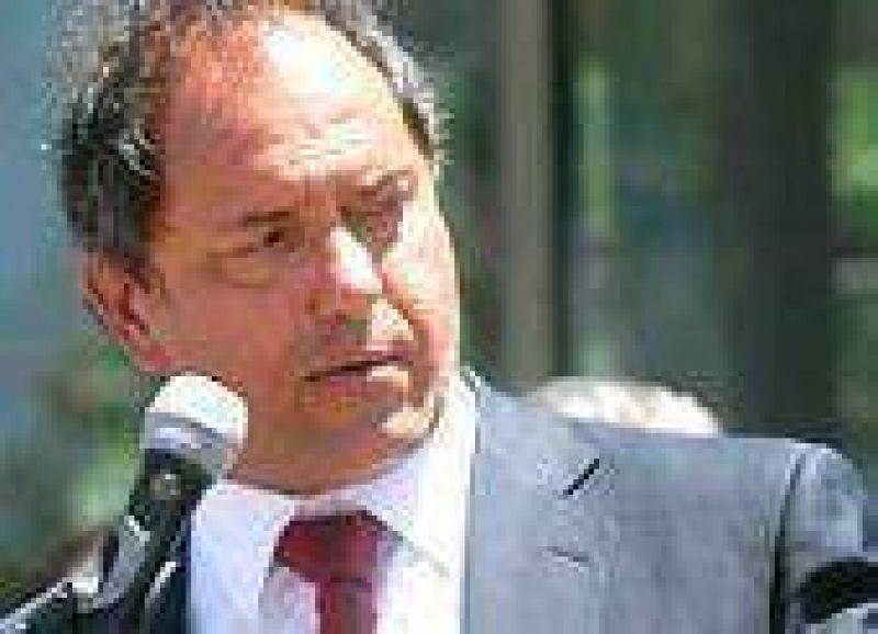 """Scioli: """"El acuerdo entre Francisco De Narváez y Felipe Solá me perece ridículo"""""""
