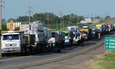 Restricción a la circulación de camiones en Argentina del 21 de diciembre al 2 de enero