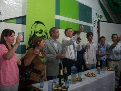 La Tercera Secci�n de Kolina tuvo su brindis de fin de a�o en Avellaneda
