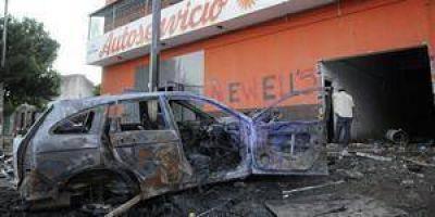 Extrema tensión y vigilia en Rosario ante el temor a nuevos desbordes