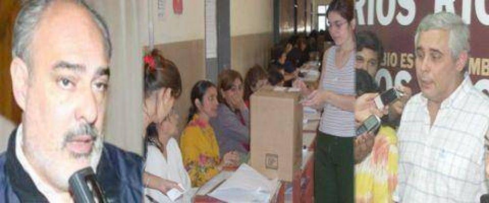 Corrientes dividida por la unificación de las elecciones.
