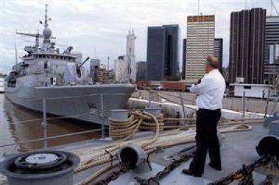 La corbeta Espora llegará también a Mar del Plata