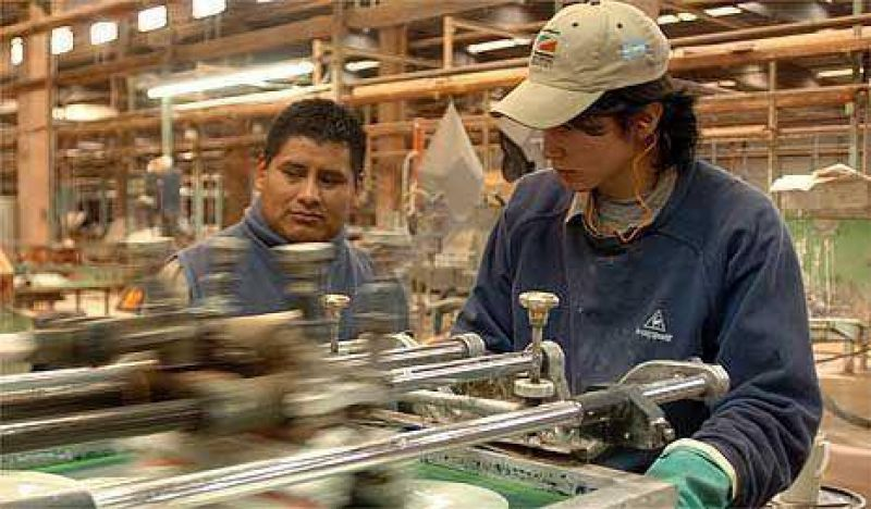 Confirman el derrumbe de sectores industriales claves