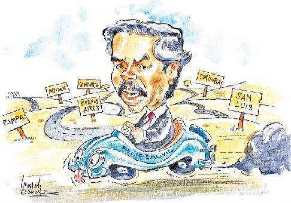 Solá recorrerá el país con la mirada puesta en 2011