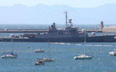 La corbeta Espora llegaría a Mar del Plata junto a la Fragata Libertad