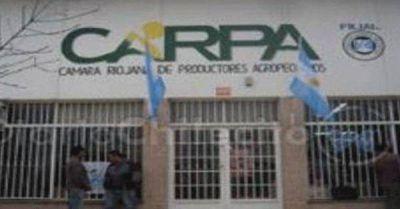 Piden a los productores de Chilecito no utilizar las bombas de riego
