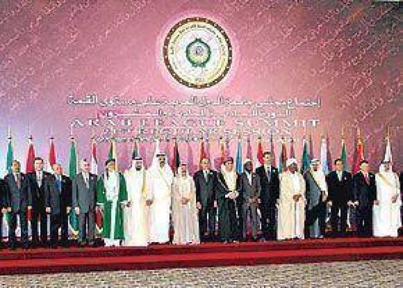 Cruce de reproches en la cumbre árabe de Qatar
