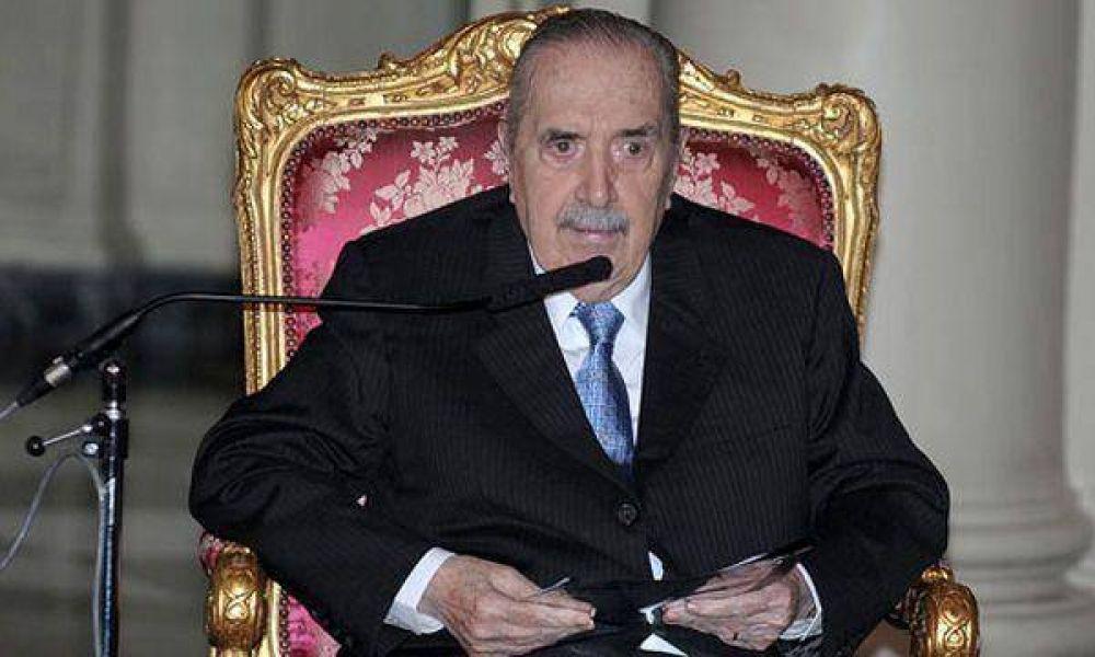 "Monseñor Laguna visitó a Alfonsín y pidió que todos ""recen por él"""