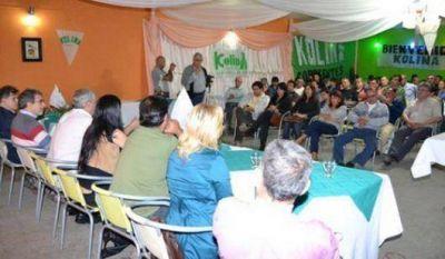 Militantes de la Kolina visitaron Itatí