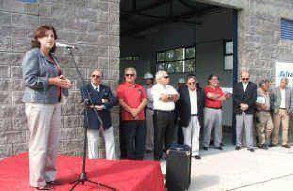 Energía cooperativa Se inauguró la estación transformadora Luján II