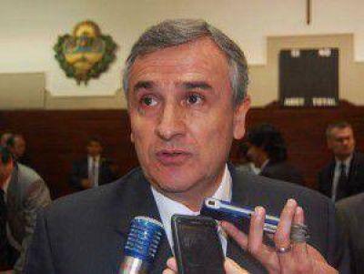 """Para Gerardo Morales la ley de regulación de la pauta publicitaria """"sería muy importante para Jujuy"""""""