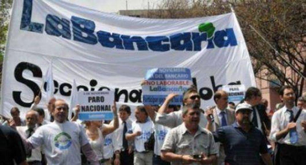 """Gremio bancario local se sumó al """"sorpresivo"""" paro nacional"""