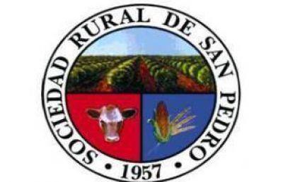 La Sociedad Rural San Pedro se sumó al paro ganadero
