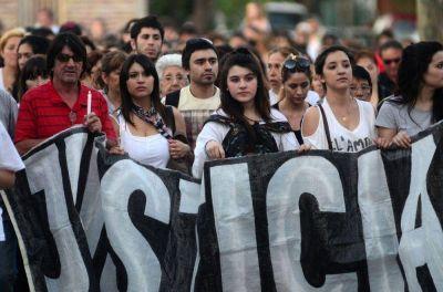 Nueva marcha de velas por las y los fallecidos en el derrumbe de la Cooperativa Obrera