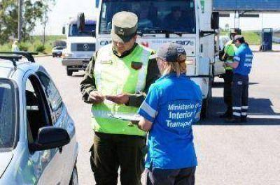 La ANSV detuvo a 496 camiones por no respetar las restricciones de tránsito