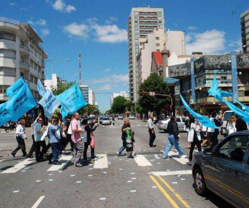 El paro bancario tuvo un alto acatamiento en Mar del Plata