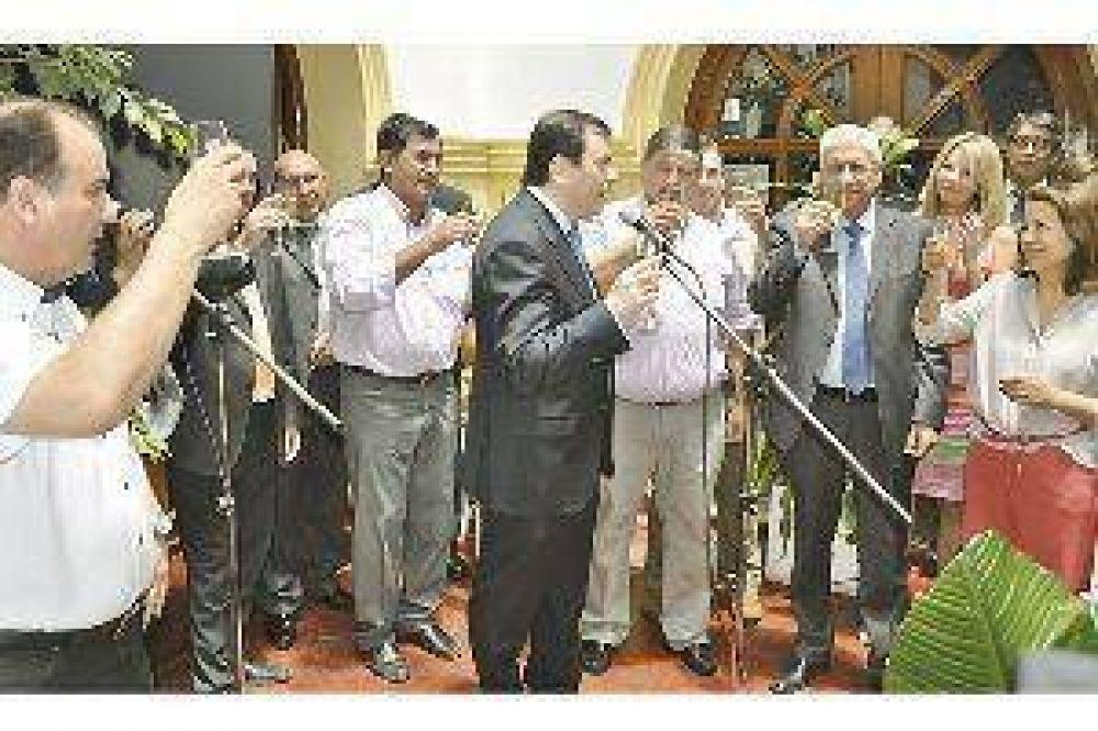 """Desde la CGT renovaron el """"compromiso gremial y político con Zamora"""""""