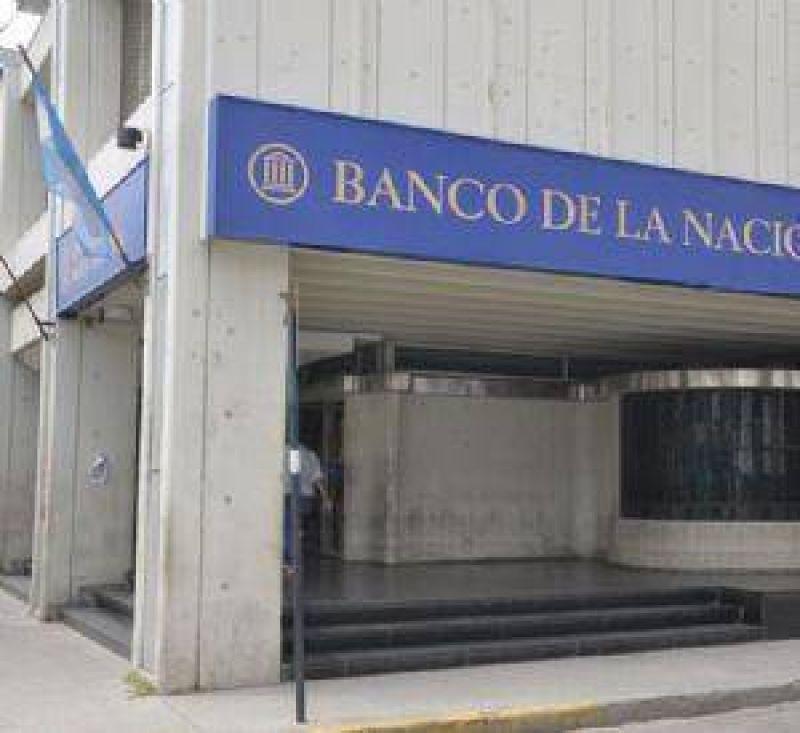 Alta adhesión al paro bancario en Santiago
