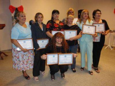 El Concejo Deliberante SFVC reconoció a personal que cumplió 25 años de servicio en el organismo